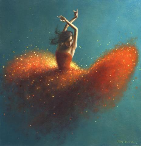 Bailar el fuego
